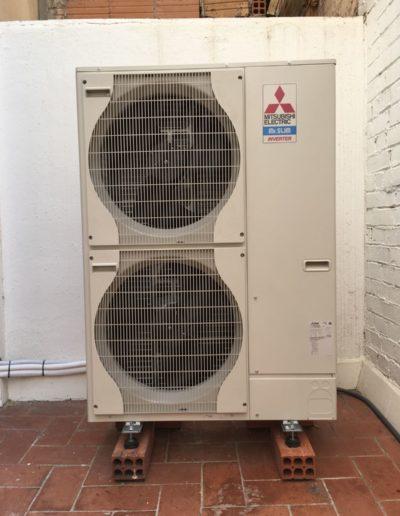 Instalación aire acondicionado conductos