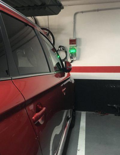 Instalación puntos de recarga de vehículos