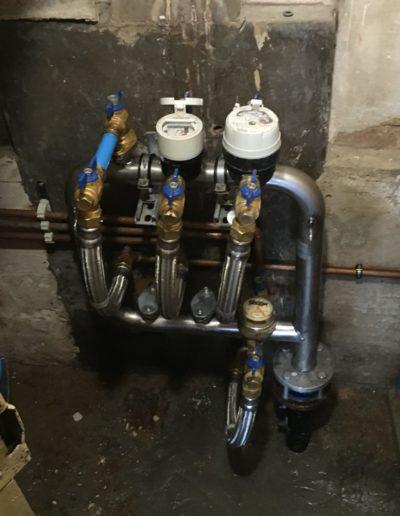 Centralitzación contadores de agua pequeña comunidad