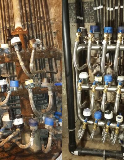 Centralització comptadors d'aigua